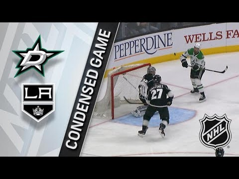 Dallas Stars vs Los Angeles Kings apr 7, 2018 HIGHLIGHTS HD