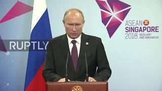 Singapore: Putin ready to meet with Trump at G20 summit