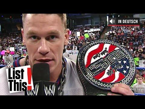 5 Superstars, die Championtitel weggeworfen haben - WWE List This! (DEUTSCH)