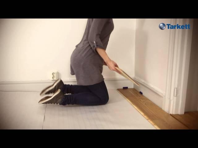 2-lock di Tarkett, il modo più semplice di posare un parquet e un laminato