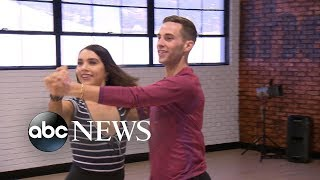 Adam Rippon and Tonya Harding open up about 'DWTS'