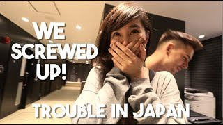 JAPAN TRIP GONE BAD (Overnight in Osaka)