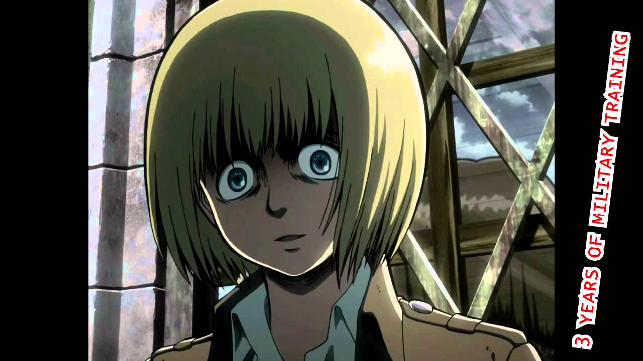 Average Armin contribution in an episode of Attack on ...