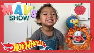 KIDS CAR CHALLENGE HOT WHEELS VS RING OF FIRE CHALLENGE   CREATIVITY ARTS & CRAFTS PROJECT