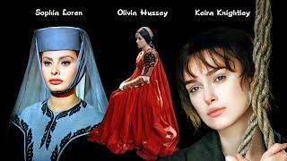 Sophia Loren - Olivia Hussey - Keira Knightley