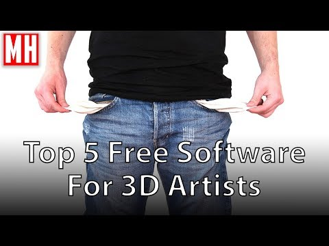 Top 5 Free Software for 3D Artists