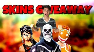FAST CONSOLE BUILDER / VBUCKS GIVEAWAY / SKULL TROOPER GIVEAWAY / Fortnite Livestream
