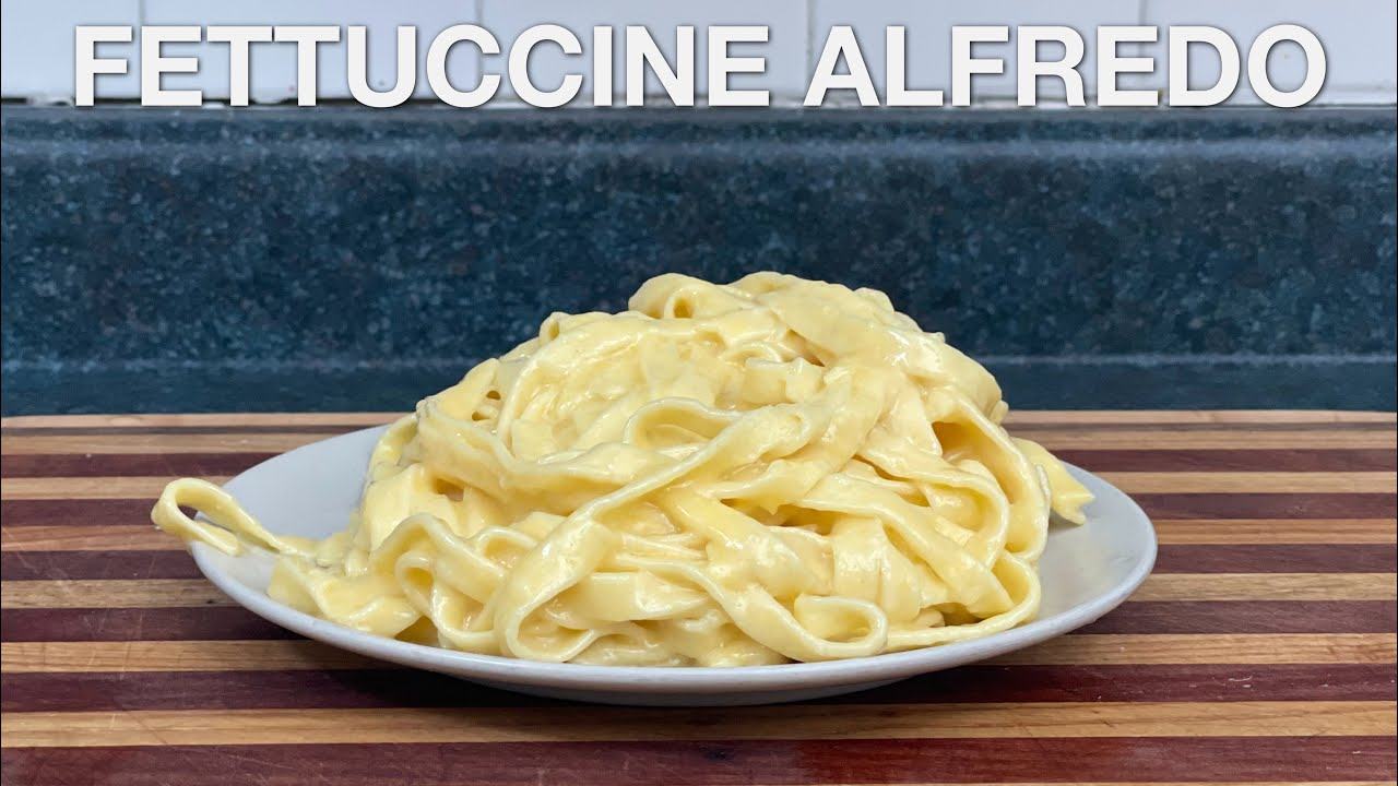 Fettuccine Alfredo - You Suck at Cooking (episode 121)