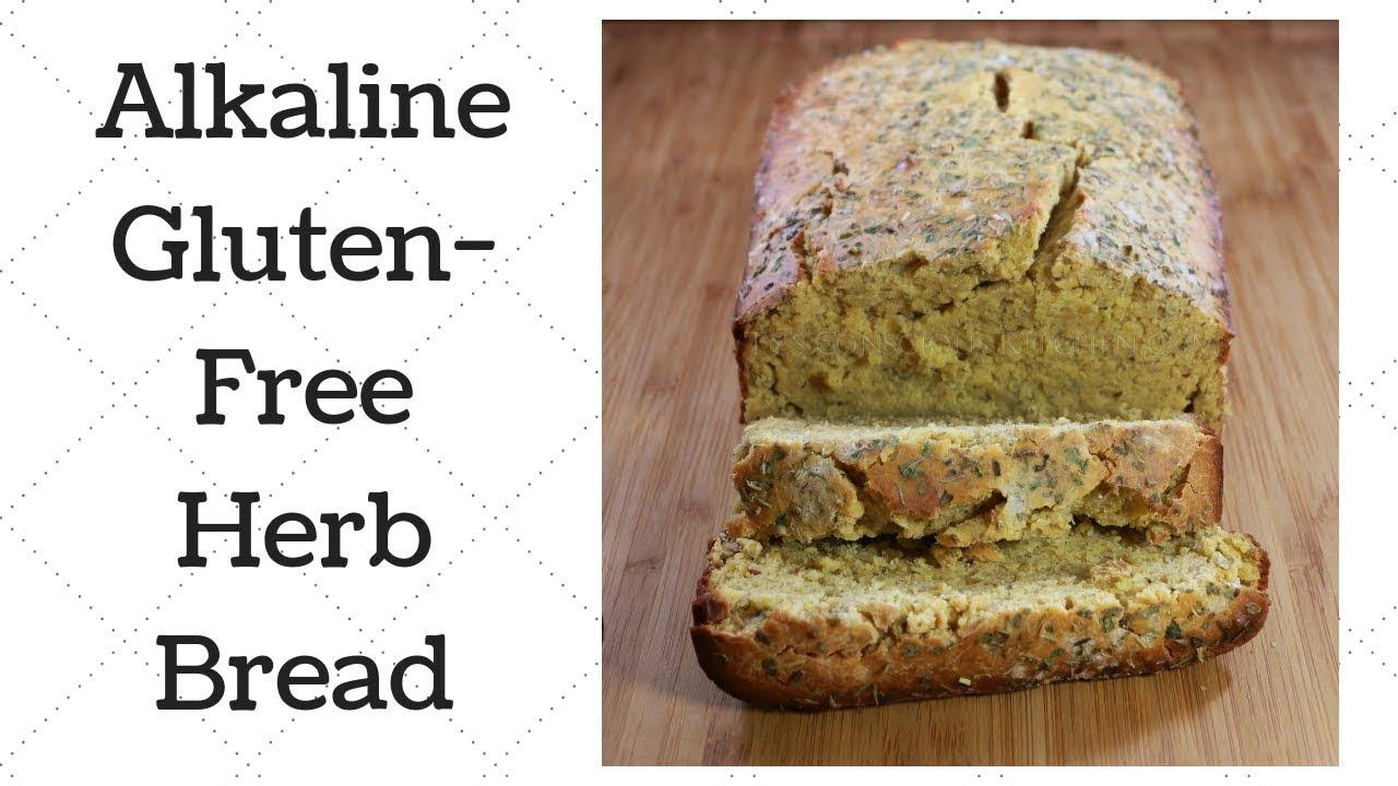 Gluten-Free Herb Bread Dr  Sebi Alkaline Electric Recipe