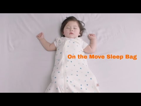 How to switch the On the Move Sleep Bag to Walk Mode