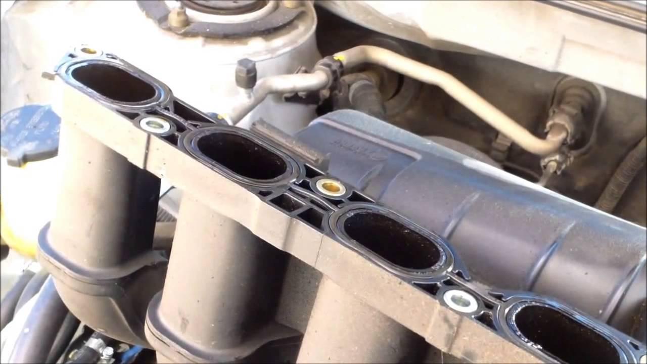 p0171 replace intake manifold gasket toyota matrix fix it angel youtube [ 1280 x 720 Pixel ]