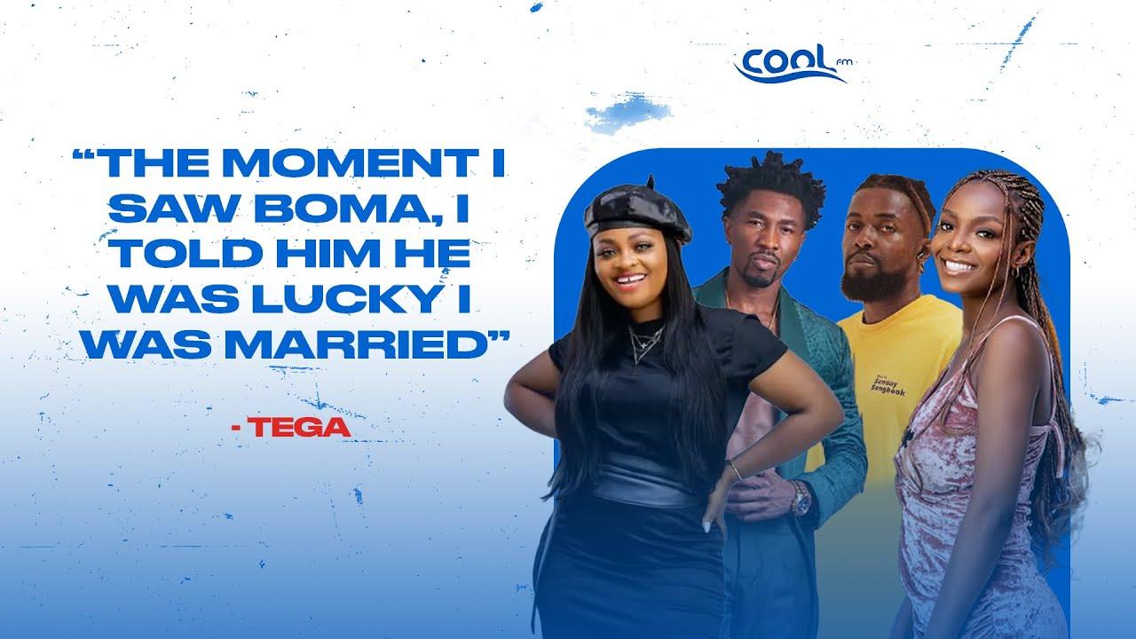 "Download ""The moment I saw Boma, I told him he was lucky I was married."" Tega #bbnaija #bbnaijashineyaeye"