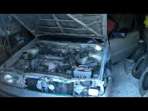 Toyota Camry V20 заводится в мороз