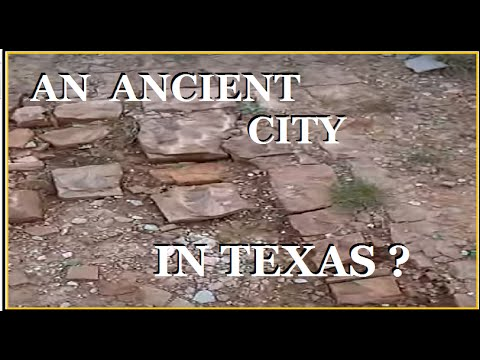 Ancient Temple found in Texas ? - And the Yellow Brick Road