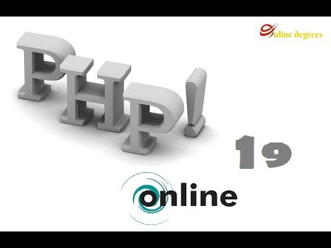 Online Degrees: PHP Online 19  Login Form 6  Making a Logout button