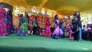 Gunna Gunna mamidi +Foke Dance, New Year Dummu Dummu Dance