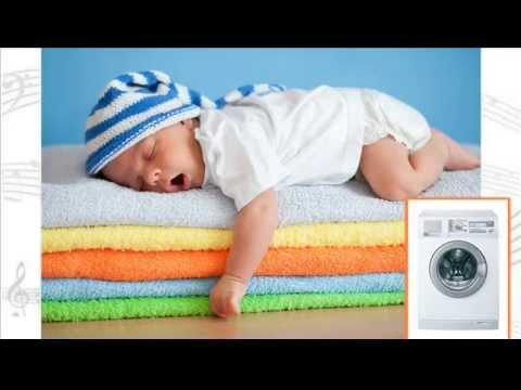 Washing machine noise - White noise for babies - YouTube
