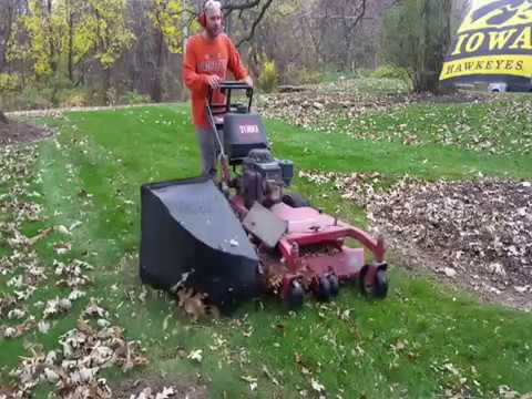 Tip On Using Large Leaf Bags On Mower Funnydog Tv