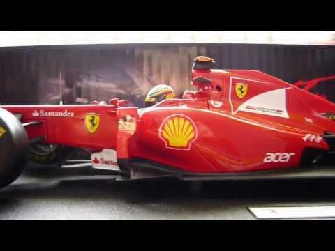 Ferrari F150 Italia Fernando Alonso Hotwheels 118 Youtube