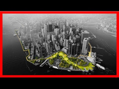 Breaking News | Huge 10-mile sea defence that could protect new york from flooding