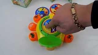 Видео обзор детская игрушка - Божья Коровка - Обучающая детская игрушка(Игра