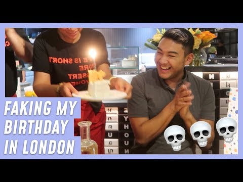 FAKING MY BIRTHDAY IN LONDON LMAO - RomeAroundTheWorld Days 12-14