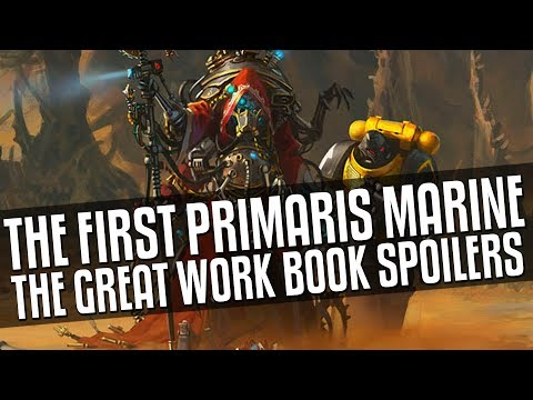 The First Primaris Marine - The Great Work book Spoilers