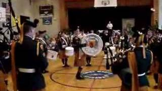 28th infantry bn irish army pipe band