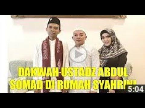 SUBHANALLAH !! Dakwah Tuan Guru Ustadz Abdul Somad Lc MA Di Rumah Kediaman Artis Syahrini