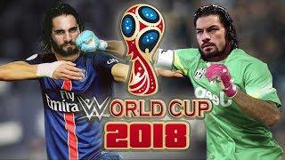 Les Sélections WWE pour la Coupe du Monde de Football 2018