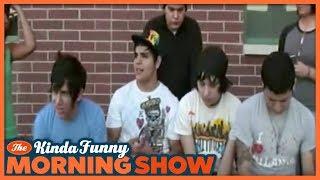 We Make Fun of Andy's Dorky High School Band - The Kinda Funny Morning Show 06.04.18