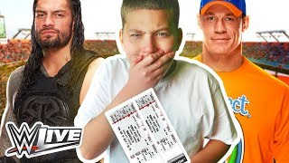 SURPRISING JAYDEN WITH WWE TICKETS!! *HE CRIED* (EMOTIONAL!) | MindOfRez