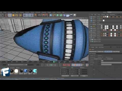 Spaceship Model 3D - Speedart - FocusCreations