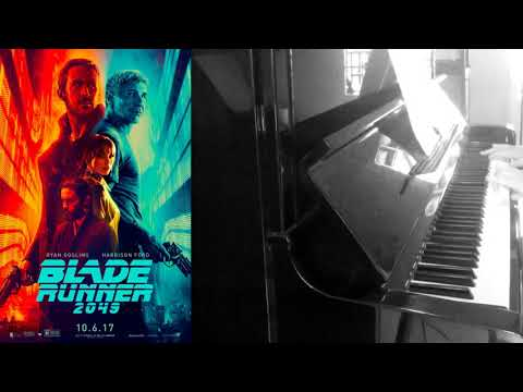 Blade Runner 2049 - Tears in Rain -  Piano Solo (sheet available)