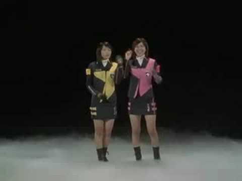 magiranger vs dekaranger movie, girls in trouble?! - YouTube