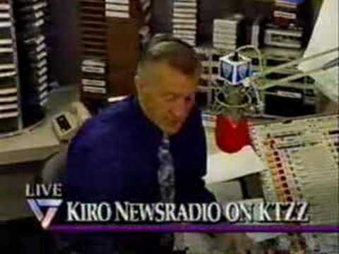 Seattle's KIRO Radio on KTZZ-TV  (2/4)  4-30-93