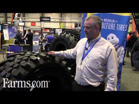 Michelin Agriculture Tires BibLoad For The Backhoe.