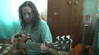 Alice Cooper bass guitar cover- Big apple dreamin (II.)