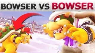 What if Bowser Fights EVERY Boss? | Super Mario Odyssey