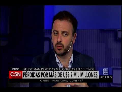 C5N - El Diario: Inundaciones en Santa Fe y Entre Ríos