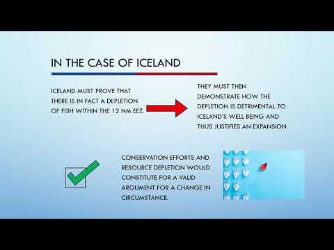 3201 Debate Video: Fisheries Jurisdiction - Iceland V. UK
