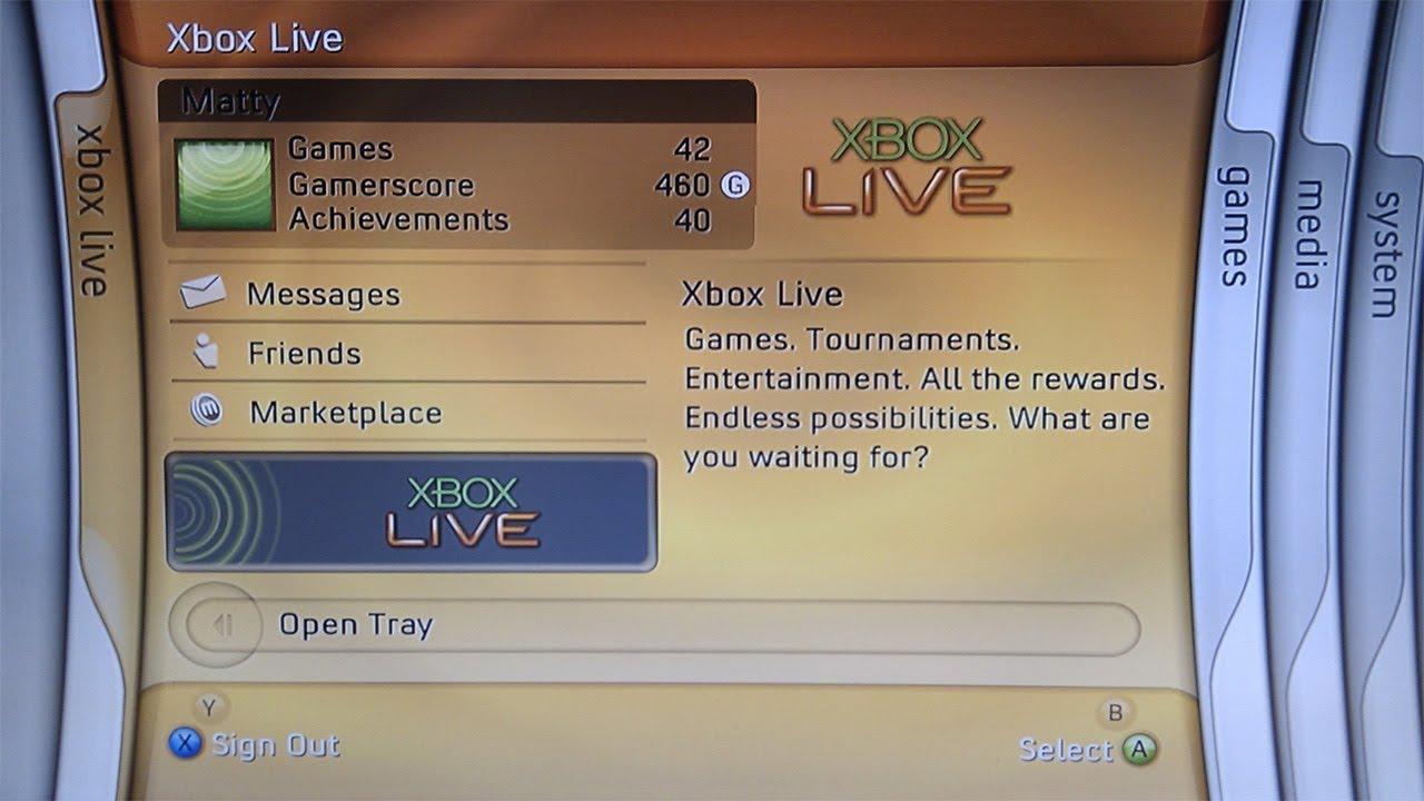 Use the Xbox 360 Blades Dashboard (Version 1888) on a Jtag | Digiex