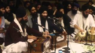 Bhai Jagpal Singh Jee  Akhand Keertani Jatha, Raensabaayee Keertan Southington CT 15 October 2011   Part 1 thumbnail