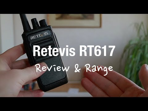Retevis RT617 Licence Free Walkie Talkies (Review And Range Test)