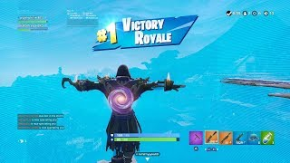 "FORTNITE First Win with STAGE 8 ""BLACKHEART"" SKIN (GOLD ""PIRATE"" OUTFIT) 