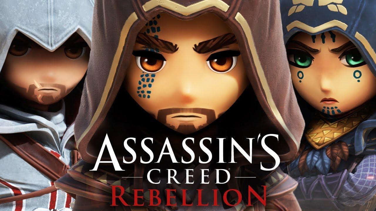 Resultado de imagem para Assassin's Creed: Rebellion