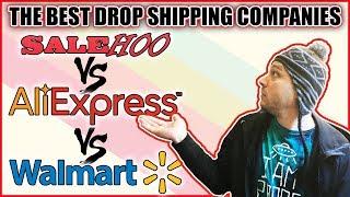 The BEST Drop Shipping Companies - Salehoo vs Aliexpress vs Walmart?