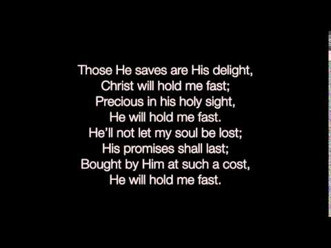 He Will Hold Me Fast