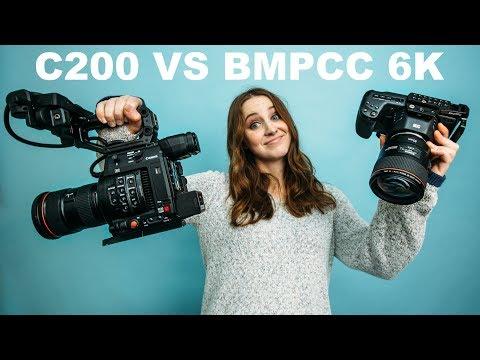 Canon C200 vs BMPCC 6K Cinema Camera