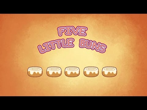 Five Little Buns | Nursery Rhymes for Kids | Hogie the Globehopper